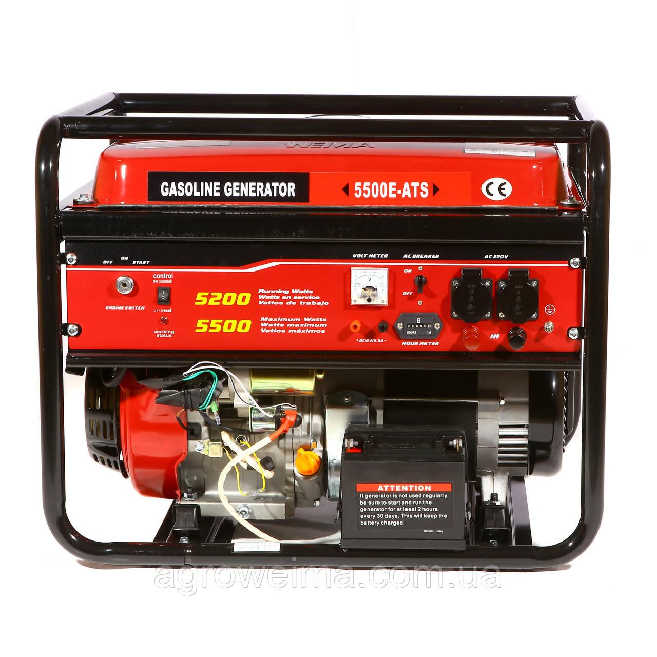 Генератор бензиновый WM5500 ATS (Автоматика)
