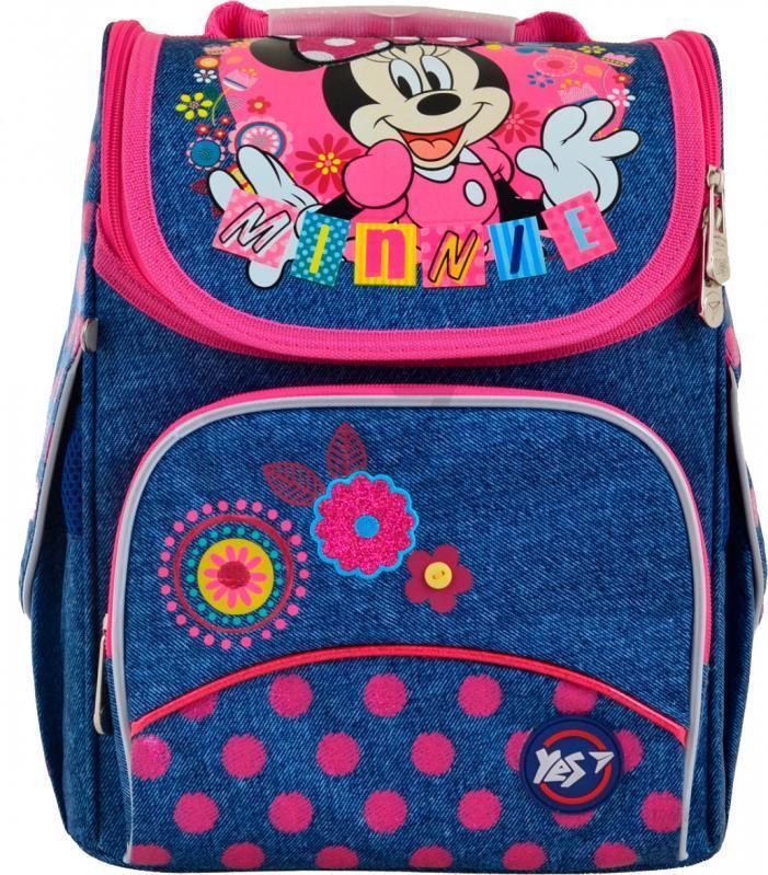 Школьный каркасный ранец с ортопедическими свойствами Minnie Mouse 33*26*13