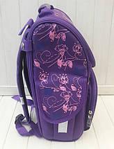 Каркасный школьный ранец Paris для девочки 1-4 класс 33*25*15 см, фото 3