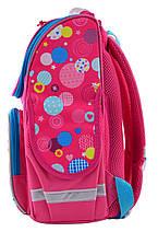 Каркасный ортопедический рюкзак Smart для девочки 34*26*14, фото 3