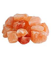 Гималайская розовая соль Камни 50-80мм 1 кг для бани и сауны