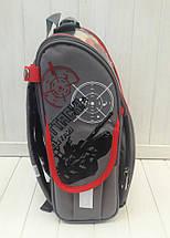 Школьный ортопедический темно-серый рюкзак Greatest Tank Battles для мальчика 34*27*15 см, фото 3