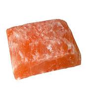 Цегла Рване каміння з гімалайської солі 20/20/5 см для лазні та сауни