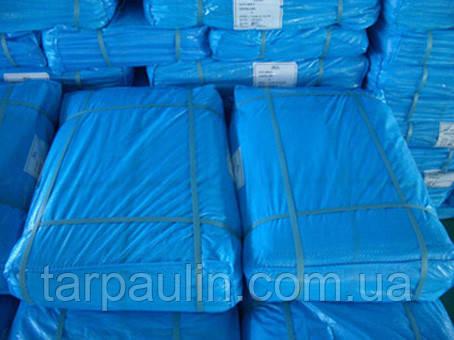 Тент Тарпаулин 10*18 синий 75 г/м2, размер 10х18 м.
