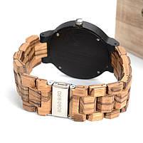 Часы мужские Bobo Bird деревянные, фото 3
