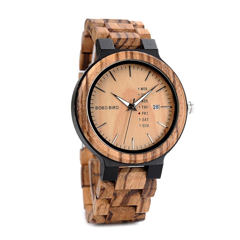 Часы мужские Bobo Bird деревянные