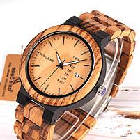 Часы мужские Bobo Bird деревянные, фото 2