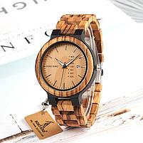 Часы мужские Bobo Bird деревянные, фото 4