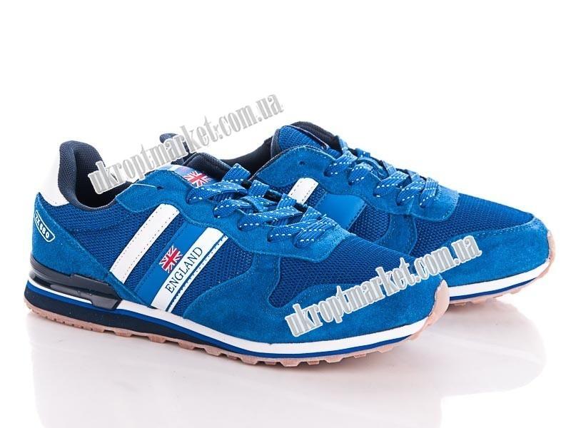 "Кроссовки мужские 8904-2 blue-white (8 пар р.41-46) ""Veer-Demax"" LB-1193"