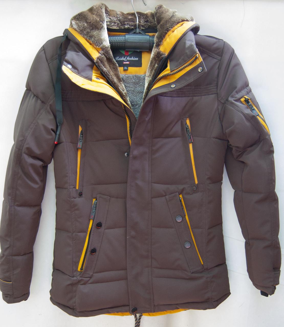Куртки мужские пуховики