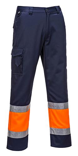 Двухцветные светоотражающие брюки Combat  E049