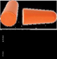 Противошумные вкладыши из пенополиуретана (200 пар) EP02