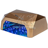 Лампа Diamant  36 Вт, с сенсорным датчиком движения, золото, фото 1