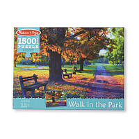 """Прогулка в парке"", Картонный пазл, 1500 эл.NEW , Melissa&Doug, фото 1"