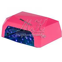 Лампа Diamant  36 Вт, с сенсорным датчиком движения, розовая, фото 1
