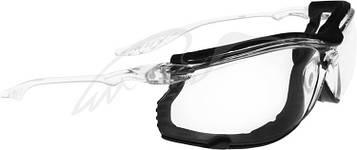 Очки баллистические Swiss Eye Sandstorm. Цвет - прозрачный, прозрачные линзы, пылезащита, чехол из микрофибрового материала (40372) 23700562