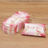 Подарочная упаковка для украшений Thank you/размер 8х5х2 см.