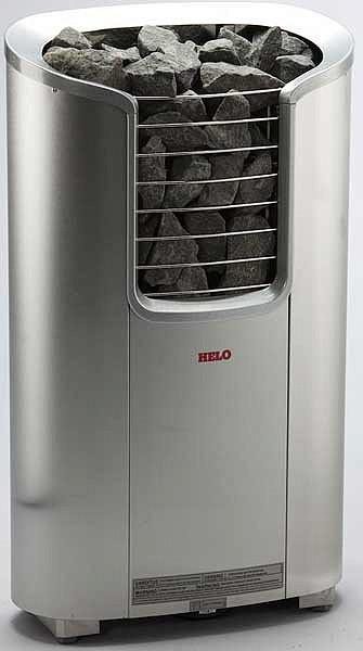 Электрокаменка для сауны и бани Helo ROXX 9 DE хром 9 кВт