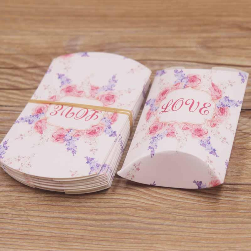 Подарочная упаковка для украшений Love/размер 8х5х2 см.