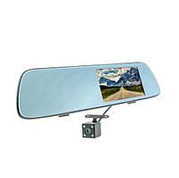 Зеркало видеорегистратор MR-53 1080p 2-camers 30fps