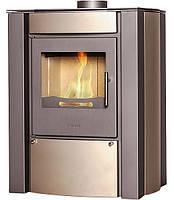 Отопительная печь-камин FLAMINGO AMOS 240 м.куб длительного горения до 8 часов