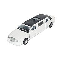 Автомодель Белый Лимузин Technopark SL970WN, фото 1