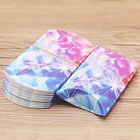 Подарочная упаковка для украшений Кристалл/размер 8х5х2 см.