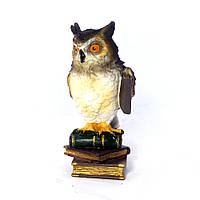 Статуэтка Филин малый с книгами 8*8*15 Гранд Презент 02-90104C