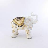 Фигура слона с украшениями, хобот к верху 30см Гранд Презент H2623-1N