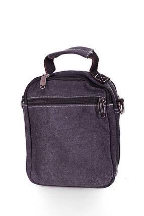 Мужская сумка через плече черная(FB001), фото 2