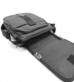 Мужская сумка через плече Gorangd черный (3381/1), фото 2