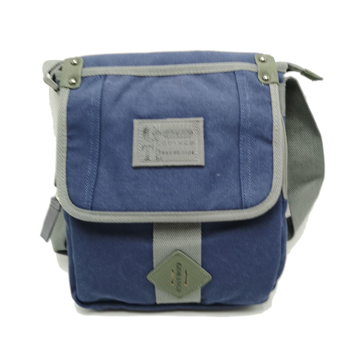 Мужская сумка через плече Gorangd синий (3381/2)