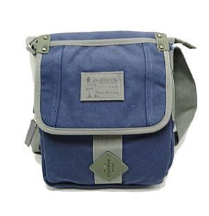 Мужская сумка через плече Gorangd синий (3381/2), фото 2
