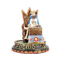 Статуэтка Просто Царь - Мужская визитница 25 см Гранд Презент ВП803