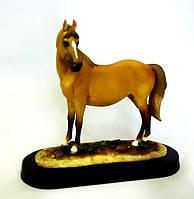 Статуэтка рыжий конь 22*19*9 см Гранд Презент SM00556B