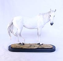 Статуэка Конь большой белый 44*36*15 Гранд Презент SM00051