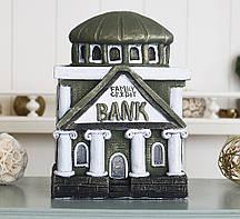 Копилка Банк семьи- оливковый гипс Гранд Презент КГ610-2