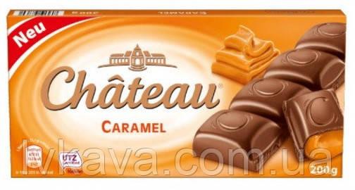 Молочный шоколад  Chateau Caramel , 200 гр