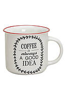 Кружка кофе керамика 9см, 300мл Гранд Презент 10014090