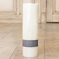 Светодиодная свеча ночник Пламя кремовый воск h30см d9см Boltze 2591200