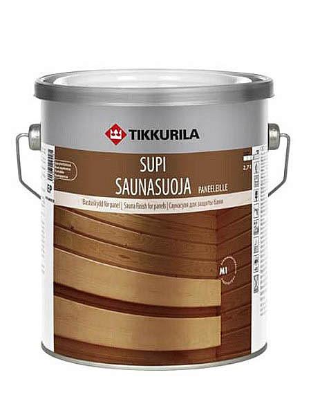 Пропитка для вагонки SUPI SAUNASUOJA 2,7 л для бани и сауны