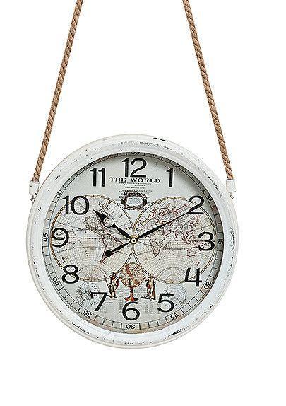 Часы настенные Винтаж металл стекло 8X30 см 10021827 10021827 10021827