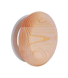 Вентиляционная Заглушка Грибок Ø100 мм из ольхи для бани и сауны