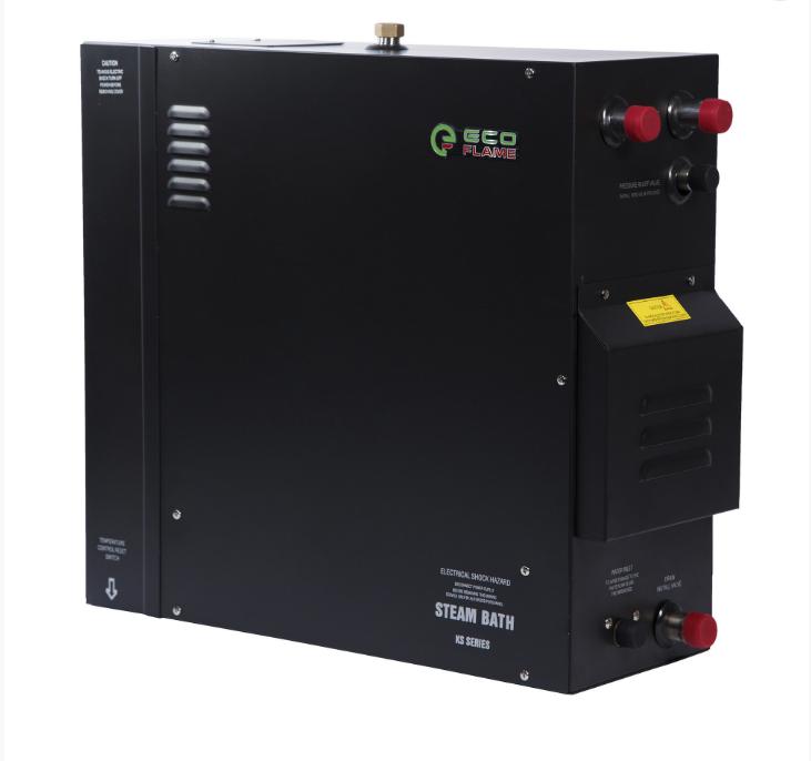 Парогенератор EcoFlame KSA180 18 кВт (для хамама 16-22 м.куб) пульт, клапан, форсунка в комплекте