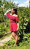 Комбез. Цвет терракот и темно-красный. Размер единый 42-46 (15639), фото 4