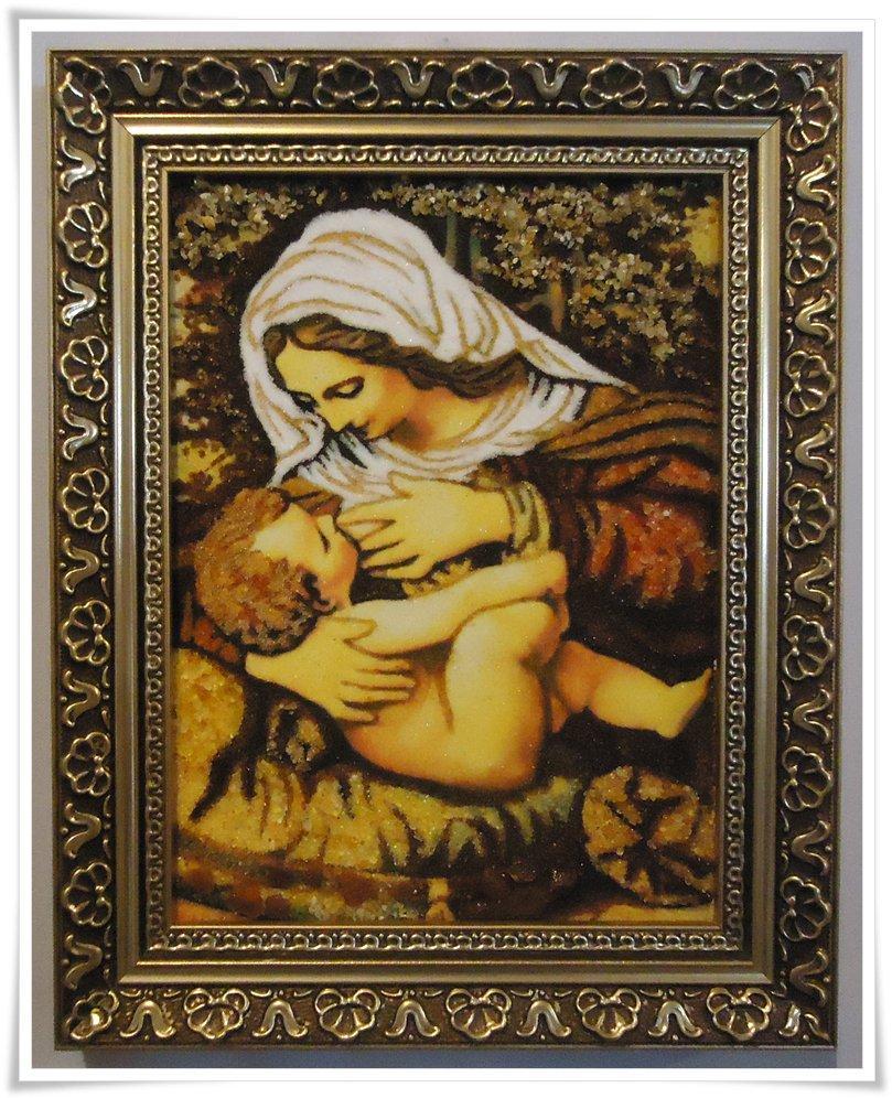 Кормящая і-100 Икона Божией Матери  Млекопитательница Гранд Презент 15*20