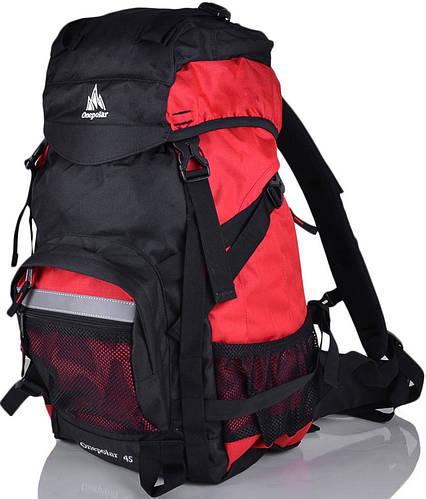 Мужской рюкзак для туризма и альпинизма 40 л. ONEPOLAR (ВАНПОЛАР) W301-red красный