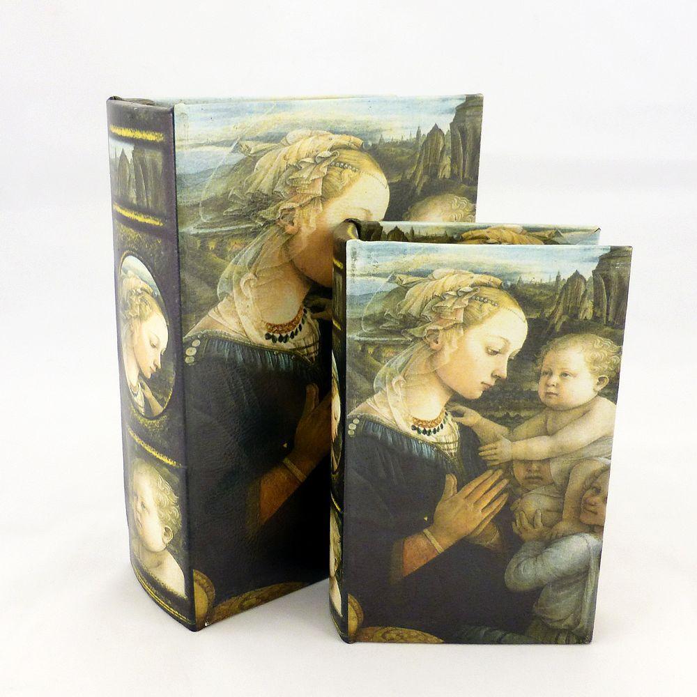 Шкатулка - Мадонна с младенцем Гранд Презент 22-KSH-PU1631