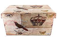 Банкетка пуфик в стиле Шебби Шик с ящиком SH31433-443