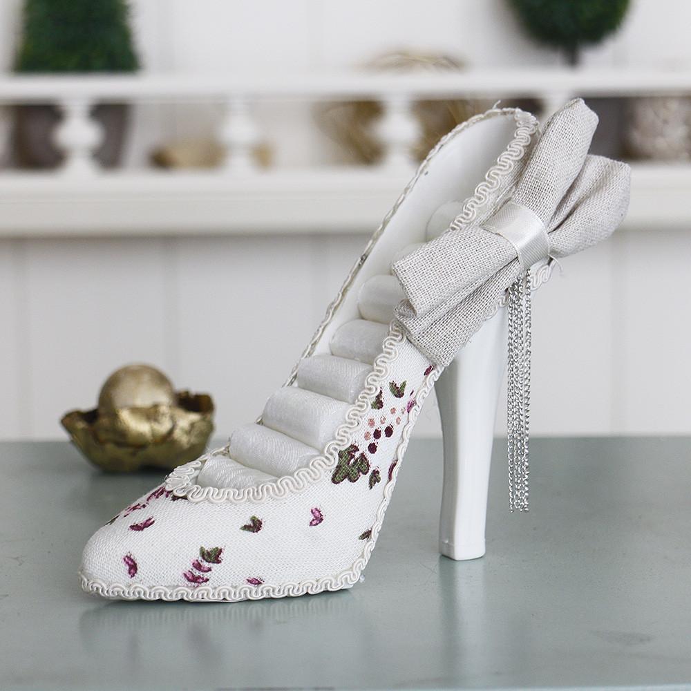 Подставка туфелька цветочная Гранд Презент GM09-J9022A